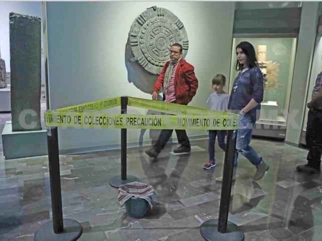 Impermeabilizan biblioteca del Museo de Antropología