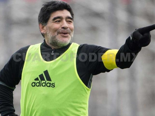 Maradona aportará en muchos aspectos: Rodríguez