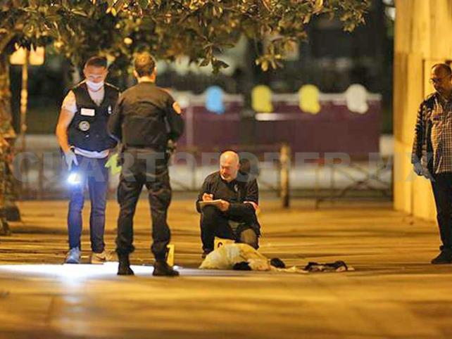 Ataque con cuchillo deja siete heridos