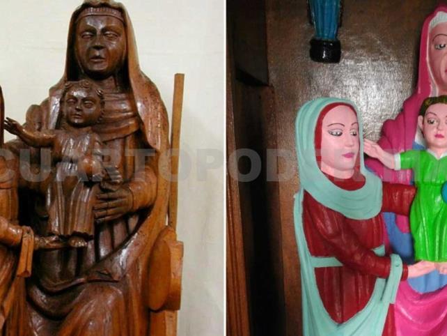 Arruinan imagen de virgen en Asturias
