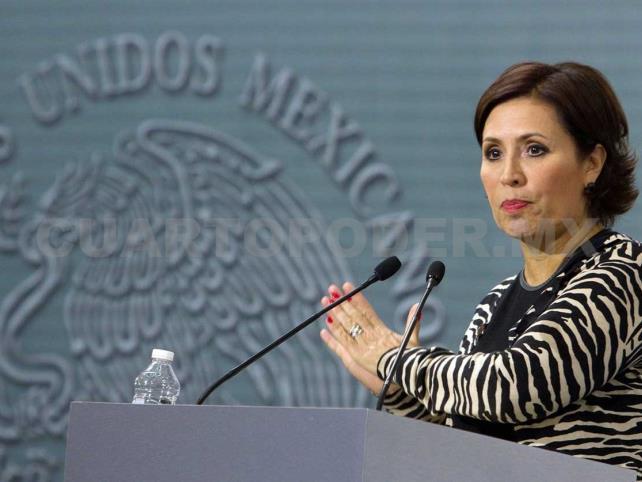 No tengo nada que temer: Rosario Robles