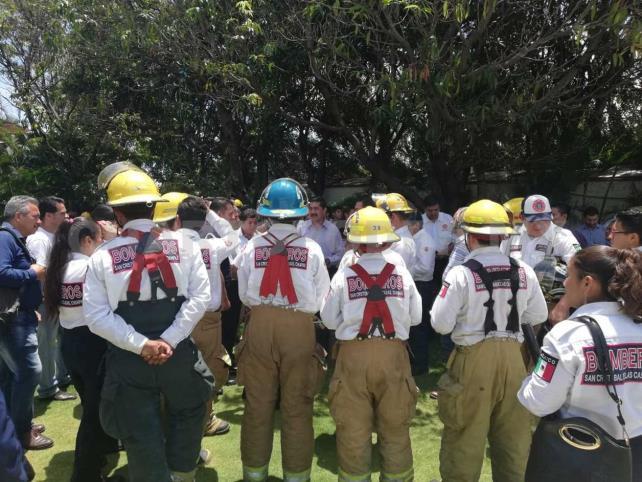 Ganan bomberos y la sociedad: diputada