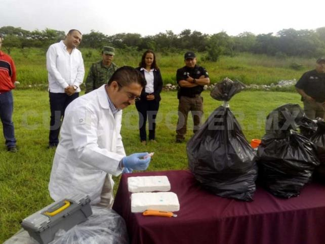 Incineran cocaína incautada en San Cristóbal