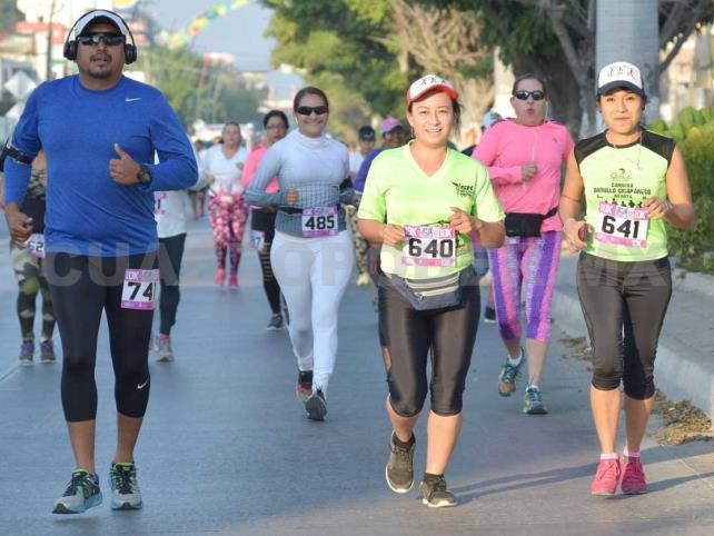 Invitan al 1º Medio Maratón Rosa