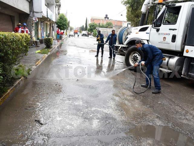 Concluye fase de emergencia en San Mateo Atenco