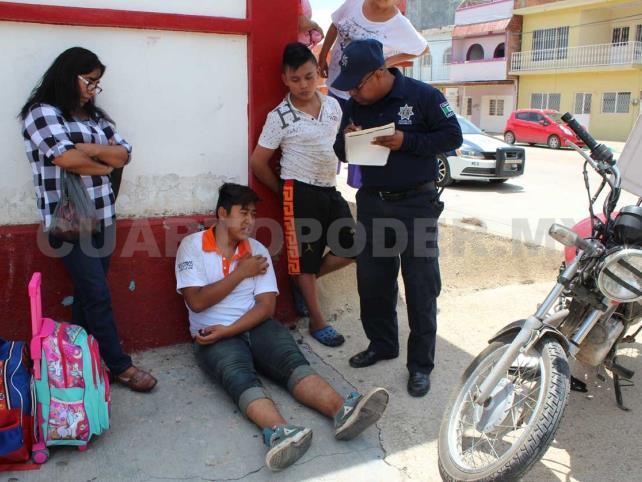 """Motorista es embestido por vehículo """"fantasma"""""""