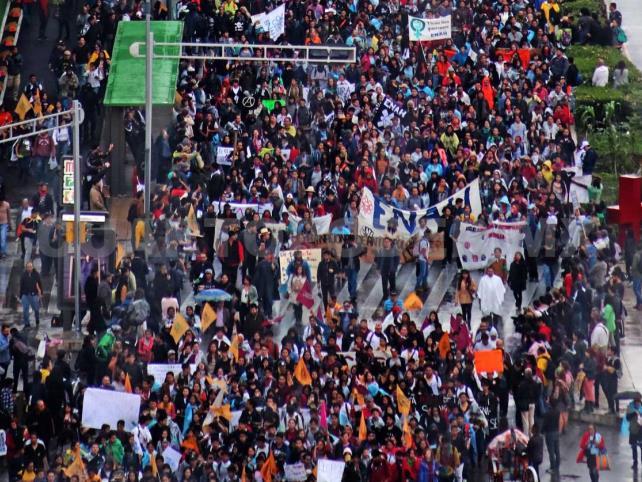 Conmemoran Marcha del Silencio de 1968