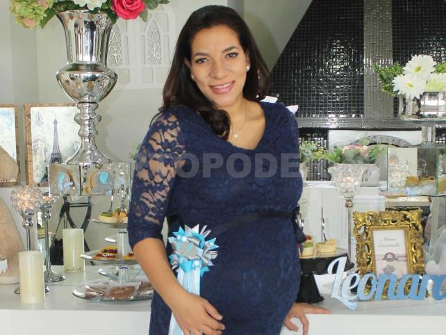 Daniela espera su segundo bebé