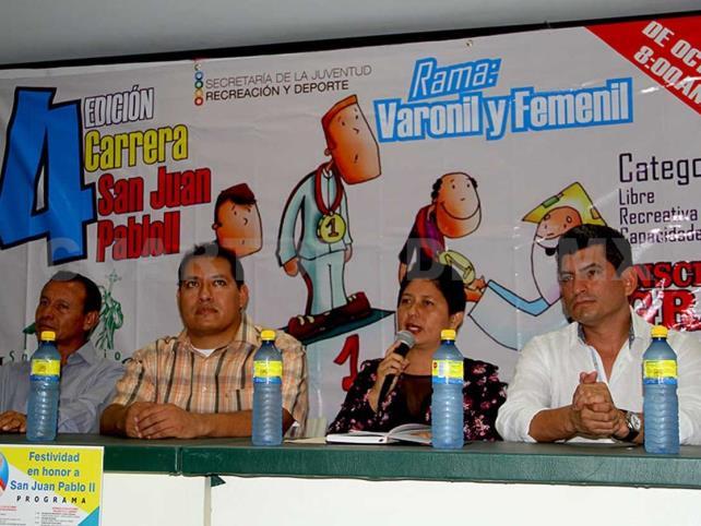 Convocan a 4ª Carrera San Juan Pablo II