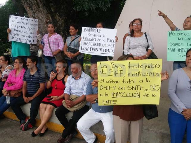 Se manifiestan contra imposición de Bahamaca
