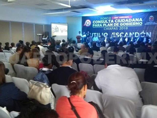 Palenque, sede del Foro de Consulta Ciudadana