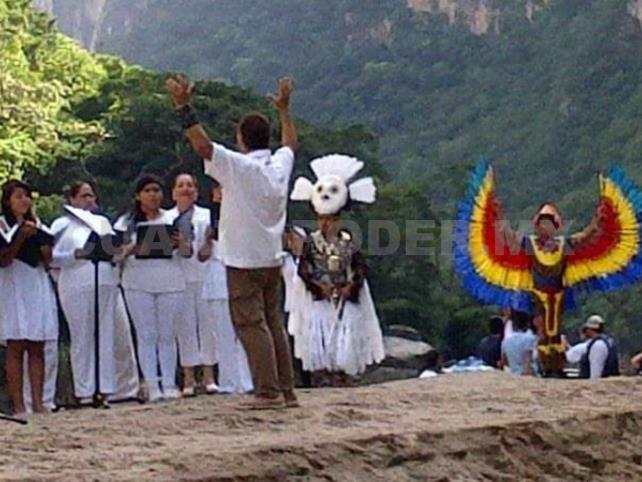 Alistan concierto sinfónico en el Cañón del Sumidero