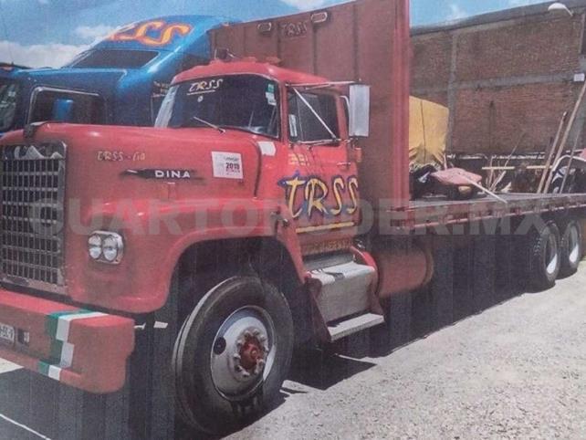 Roban camión con 18 toneladas de varilla