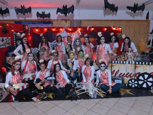 Colegio festejó Halloween