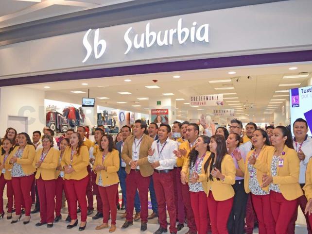 Inauguran Suburbia Tuxtla Ámbar