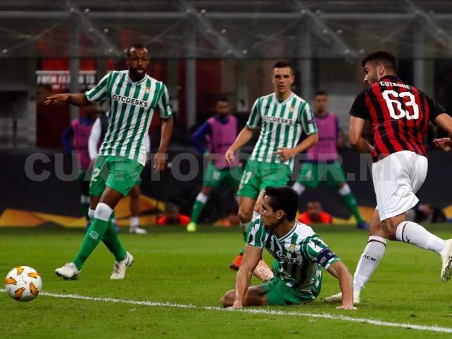 Con Guardado de vuelta, Real Betis recibe al Milán
