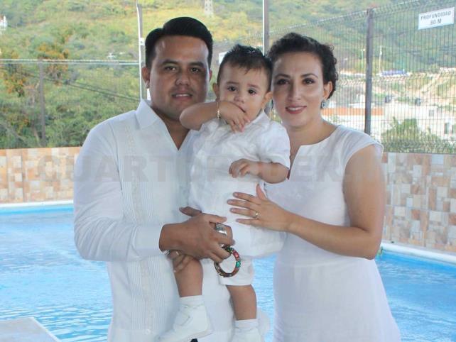 Paquito fue bautizado