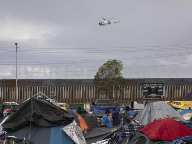 Honduras pide a México y EU evitar fuerza contra migrantes