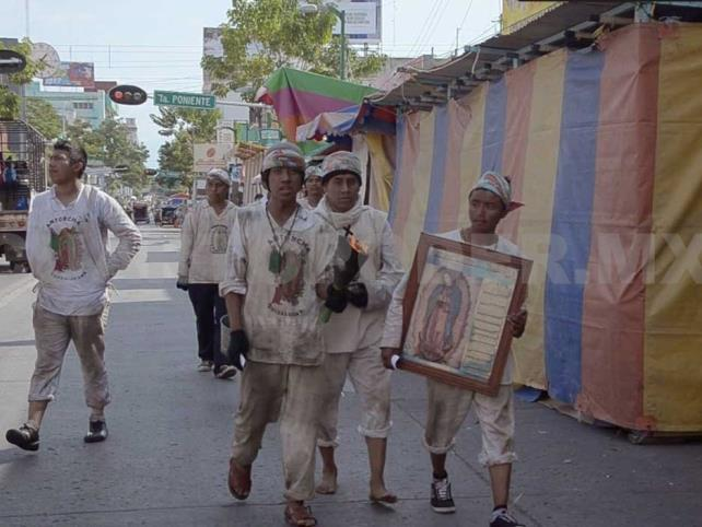 Recibe Parroquia de Guadalupe dos mil peregrinos