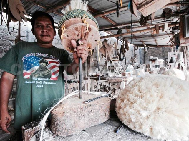 Ichtli, la melena tradicional del Parachico