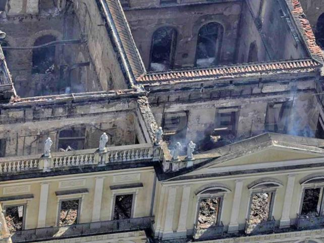 INAH apoya reconstrucción del Museo de Brasil