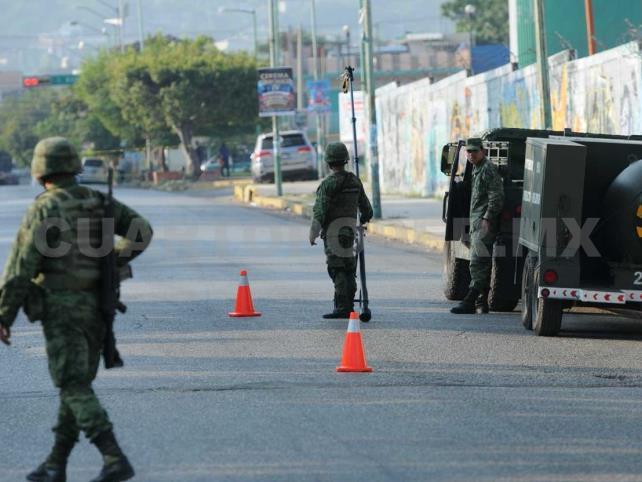 Se moviliza el Ejército al encontrar artefactos explosivos