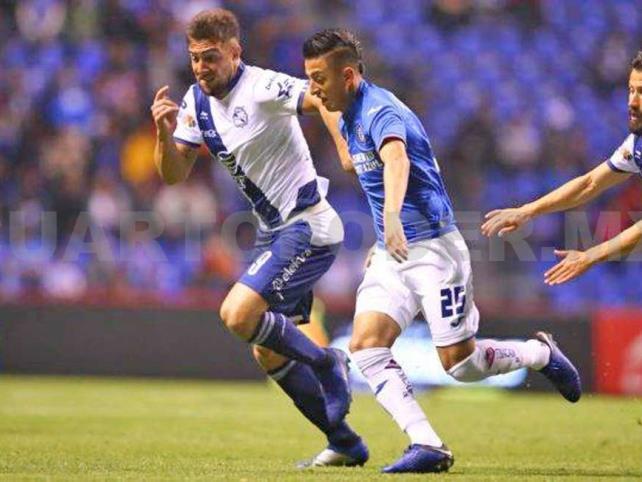 Puebla y Cruz Azul empataron  en la jornada 1