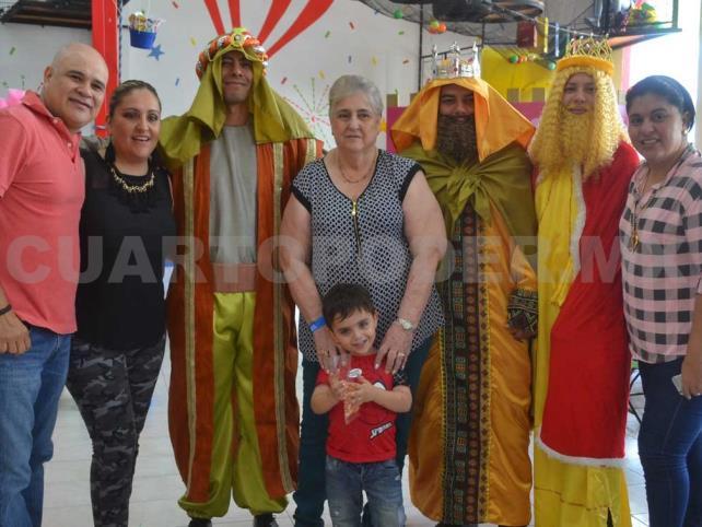 Festejaron el Día de Reyes