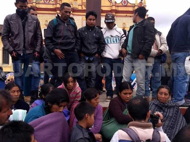 Pobladores de Chenalhó  desmienten señalamientos