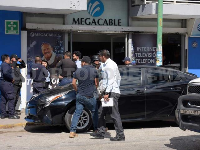 Desmiente FGE robo a la empresa Megacable