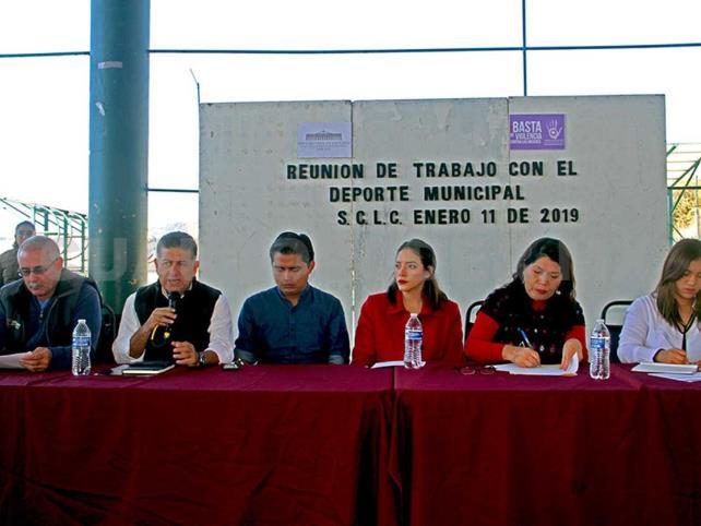 Formalizarán los Comités Municipales del Deporte