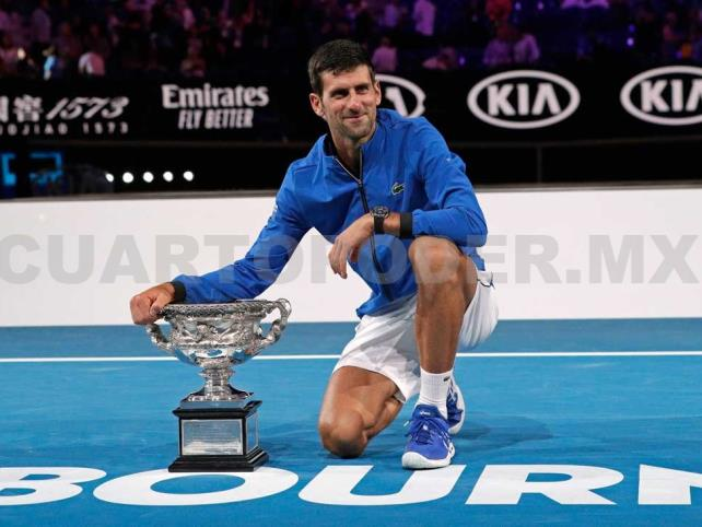 Djokovic da paliza a Nadal y gana Abierto