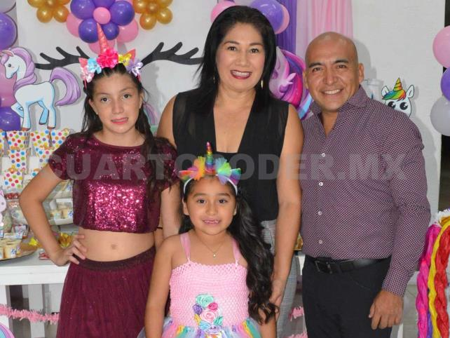 Luisa Ximena cumplió 7 años