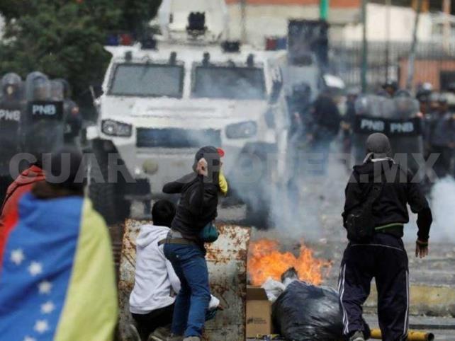 """Denuncian """"represión masiva"""" en Venezuela"""