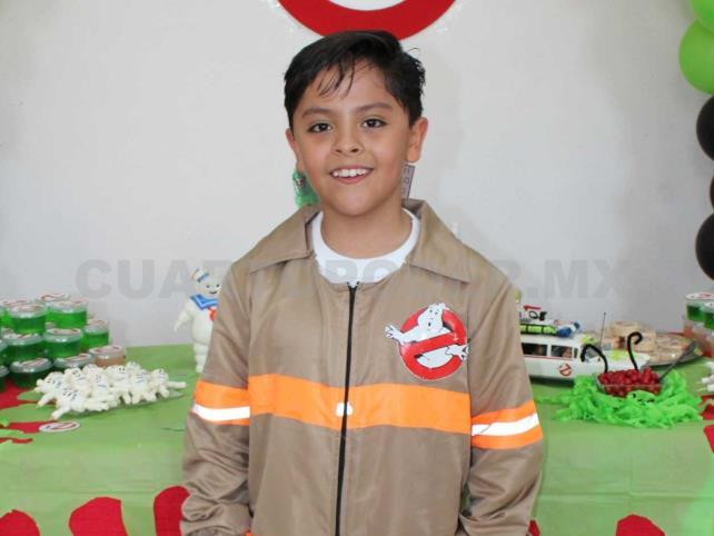 Óscar cumplió nueve añitos