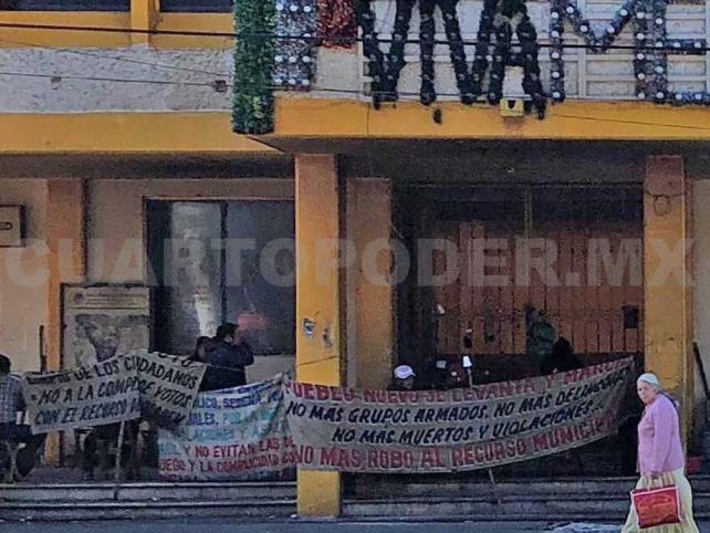 Entregan alcaldía de Pueblo Nuevo Solistahuacán