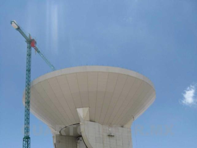 Inseguridad en el Gran Telescopio de Puebla