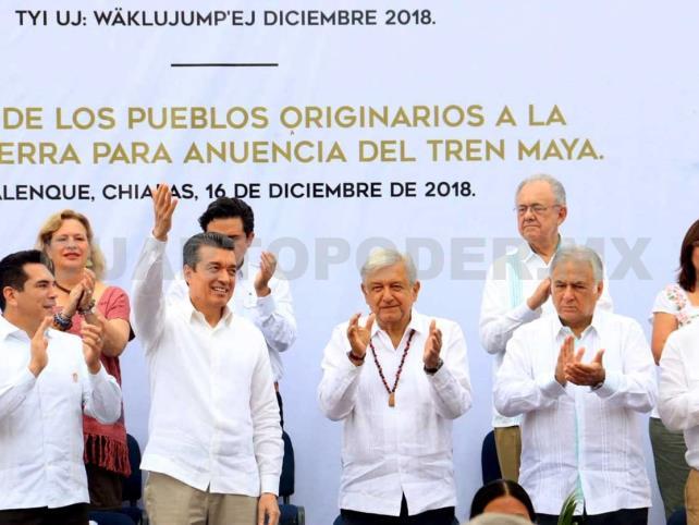 Con AMLO, las buenas noticias llegan a Chiapas