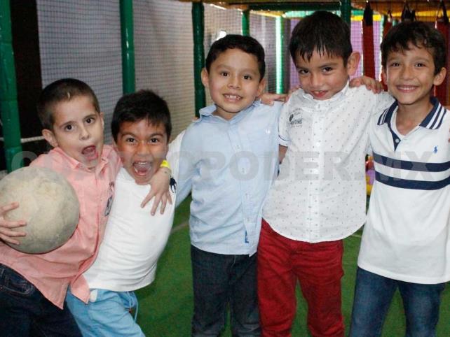 Luis Ramón cumplió siete años