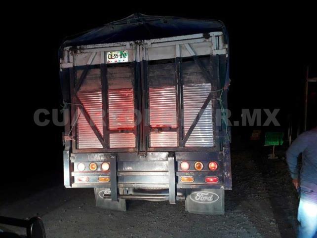 Conductor fue detenido con vehículo robado