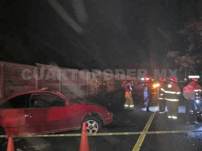 Cuatro heridos en fuerte choque