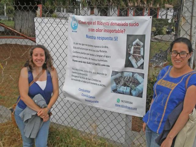 Inician proyecto piloto de saneamiento de ríos