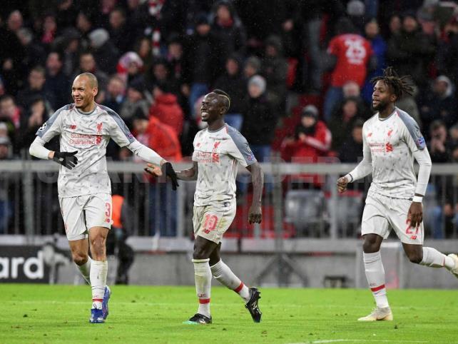 Liverpool echa al Bayern en octavos de final