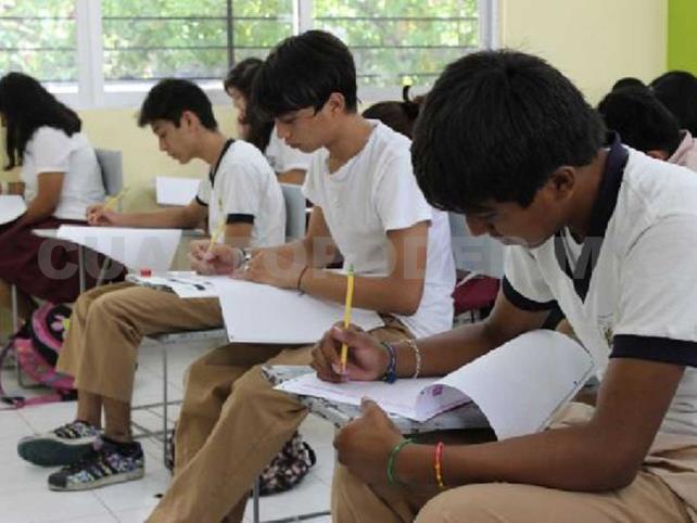 Autoridades buscan aplicar evaluación en nivel secundaria