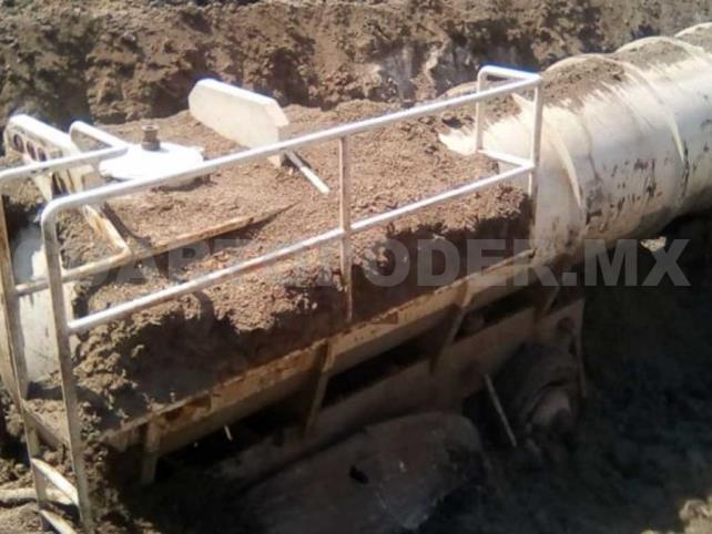 Aseguran tanques con 48 mil litros de combustible robado