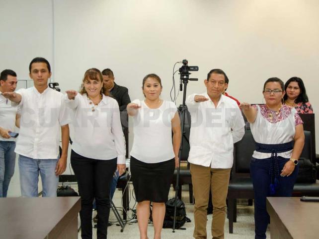 Nombran a integrantes del Concejo Municipal