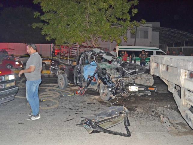 Un muerto y un herido en fatal accidente de tránsito