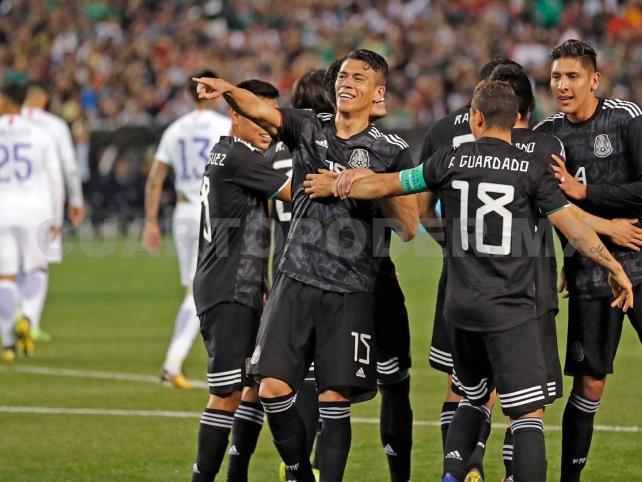 Con triunfo soñado, México golea a Chile