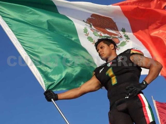 Mexicano con sueño de llegar a la NFL
