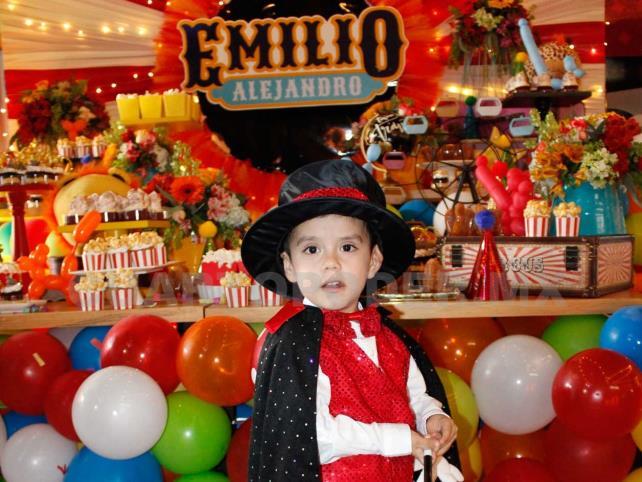 Un cumpleaños espectacular para Emilio
